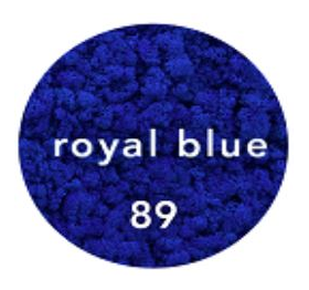 Preserved Lichen Moss Royal Blue